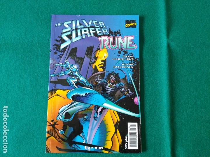 SILVER SURFER RUNE - FORUM - DOBLE PORTADA (Tebeos y Comics - Forum - Silver Surfer)