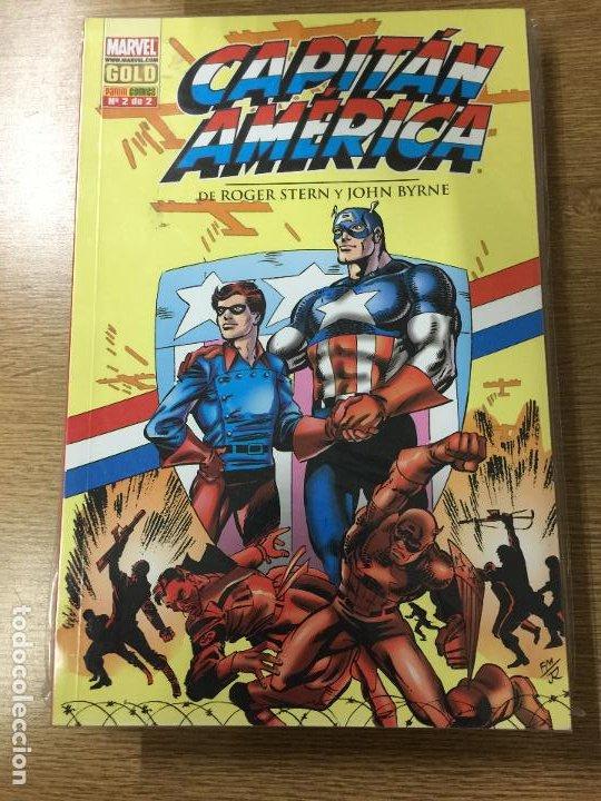 MARVEL GOLD CAPITAN AMERICA NUMERO 2 BUEN ESTADO (Tebeos y Comics - Forum - Otros Forum)