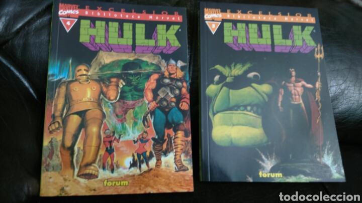 Cómics: HULK EXCELSIOR BIBLIOTECA MARVEL LOTE DE 6 COMIC - Foto 8 - 198167618