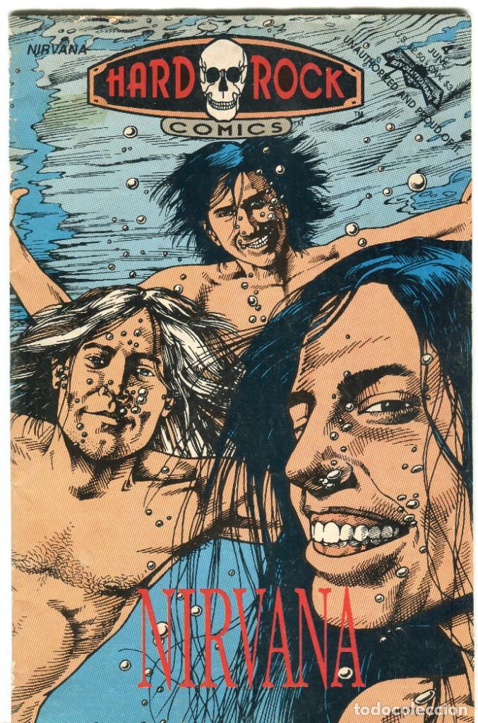 NIRVANA HARD ROCK COMICS AÑO 1992 IDIOMA INGLES (Tebeos y Comics - Forum - Iron Man)