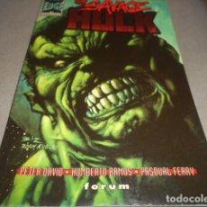 Cómics: THE SAVAGE HULK TOMO 8 . Lote 198221257