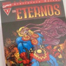 Cómics: LOS ETERNOS--BIBLIOTECA MARVEL--FORUM-----COMPLETA 1 2 3--NUEVA. Lote 198383445