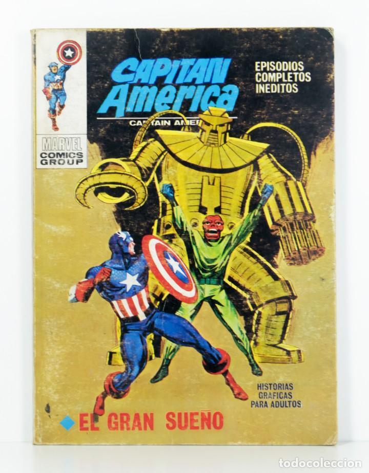 VERTICE VOL.1 CAPITAN AMERICA Nº 24 - EL GRAN SUEÑO - 128 PAGINAS - EDICION ESPECIAL (Tebeos y Comics - Forum - Capitán América)