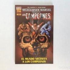 Cómics: SELECCIONES MARVEL 9: LOS CAMPEONES DE BILL MANTLO Y JOHN BYRNE. FORUM.. Lote 198415757