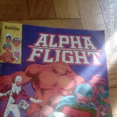 Cómics: ALPHA FLIGHT RETAPADO PRIMEROS CINCO NÚMEROS. FORUM 1985. Lote 198424571