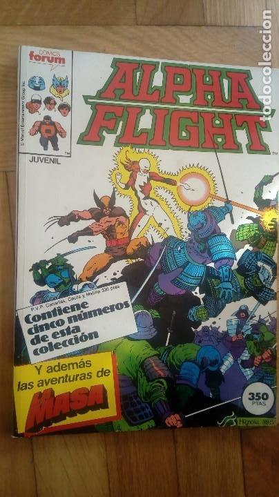 ALPHA FLIGHT RETAPADO 32-36 (Tebeos y Comics - Forum - Alpha Flight)