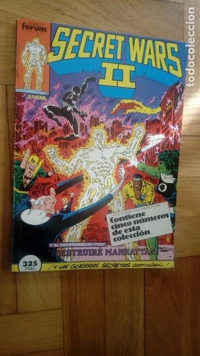 SECRET WARS II RETAPADO NºS 16 AL 20 (JIM SHOOTER MIKE ZECK ) ¡BUEN ESTADO! FORUM MARVEL (Tebeos y Comics - Forum - Retapados)