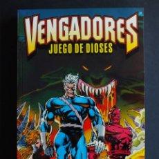 Cómics: VENGADORES - JUEGO DE DIOSES -. Lote 198464875