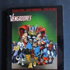 Cómics: OBRAS MAESTRAS Nº 36 VENGADORES - LOS SEÑORES DEL MAL (STERN / BUSCEMA / PALMER). Lote 198479691
