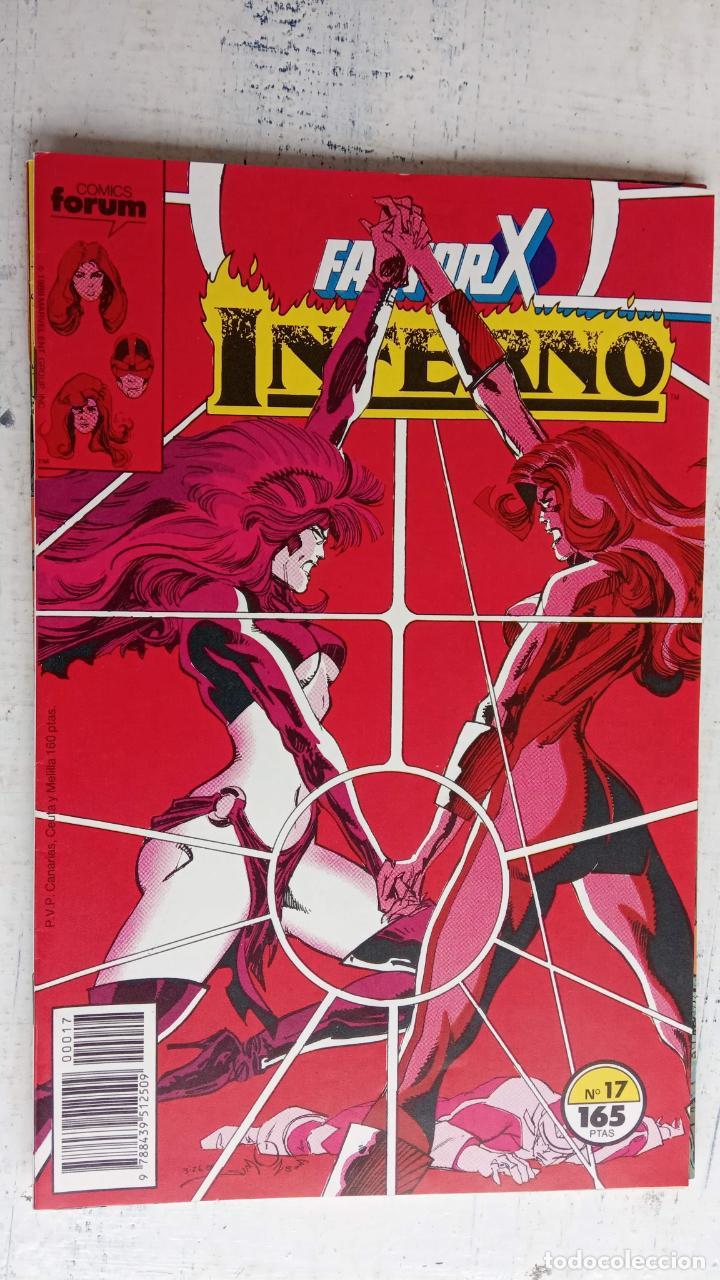 Cómics: INFERNO 1 AL 19 MUY NUEVOS - FORUM 1989 - Foto 2 - 198488380