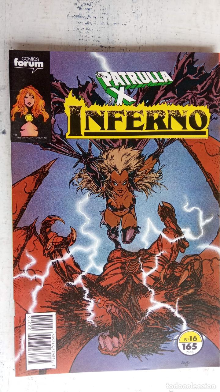 Cómics: INFERNO 1 AL 19 MUY NUEVOS - FORUM 1989 - Foto 3 - 198488380