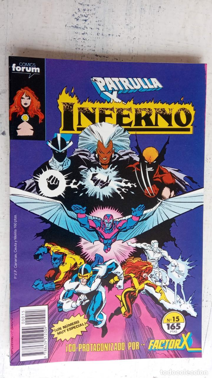 Cómics: INFERNO 1 AL 19 MUY NUEVOS - FORUM 1989 - Foto 4 - 198488380