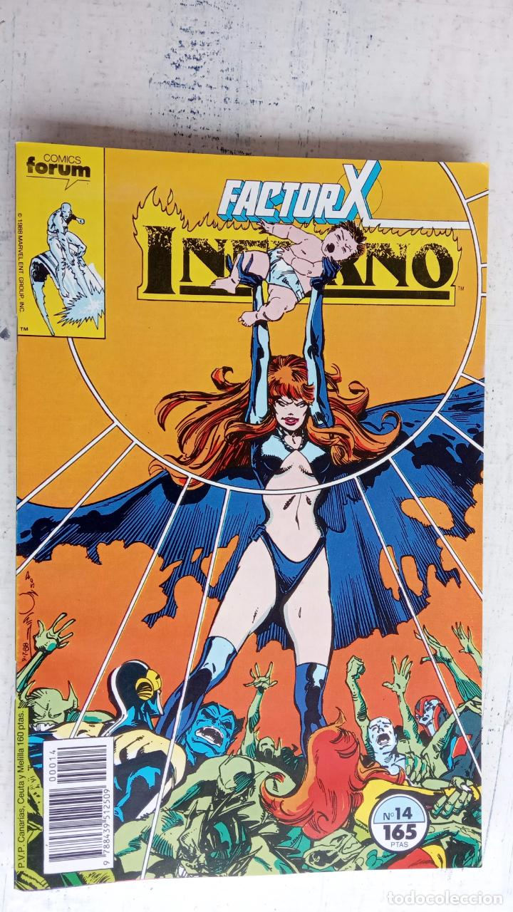 Cómics: INFERNO 1 AL 19 MUY NUEVOS - FORUM 1989 - Foto 5 - 198488380
