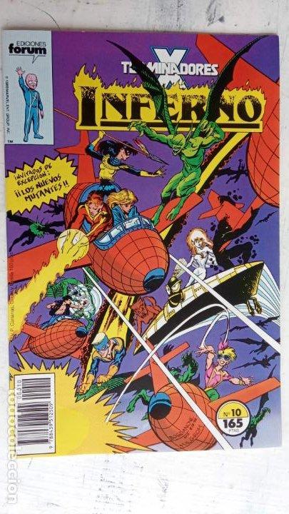 Cómics: INFERNO 1 AL 19 MUY NUEVOS - FORUM 1989 - Foto 9 - 198488380