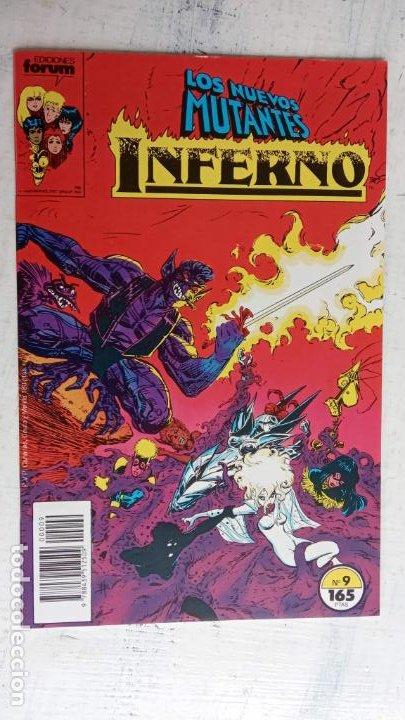 Cómics: INFERNO 1 AL 19 MUY NUEVOS - FORUM 1989 - Foto 10 - 198488380