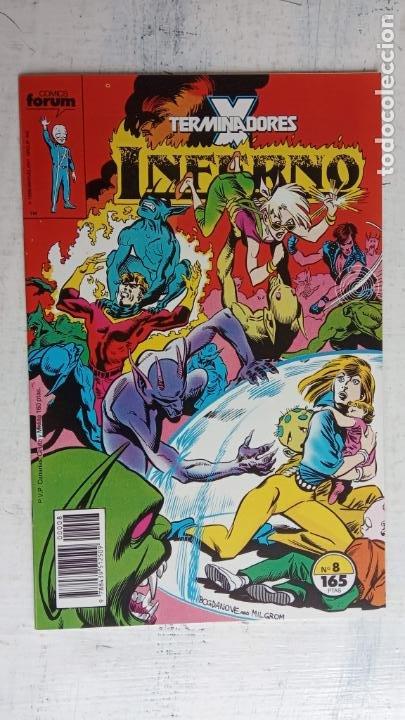 Cómics: INFERNO 1 AL 19 MUY NUEVOS - FORUM 1989 - Foto 11 - 198488380
