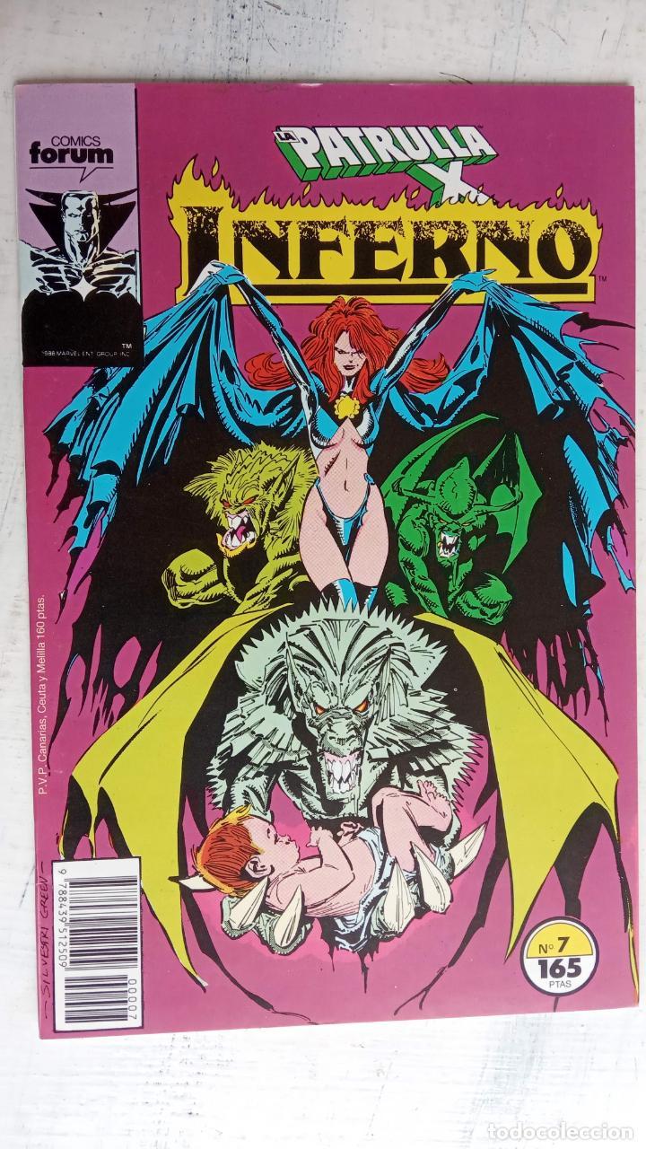 Cómics: INFERNO 1 AL 19 MUY NUEVOS - FORUM 1989 - Foto 12 - 198488380