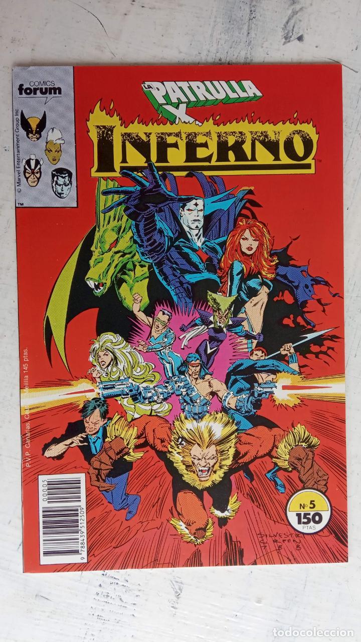 Cómics: INFERNO 1 AL 19 MUY NUEVOS - FORUM 1989 - Foto 14 - 198488380