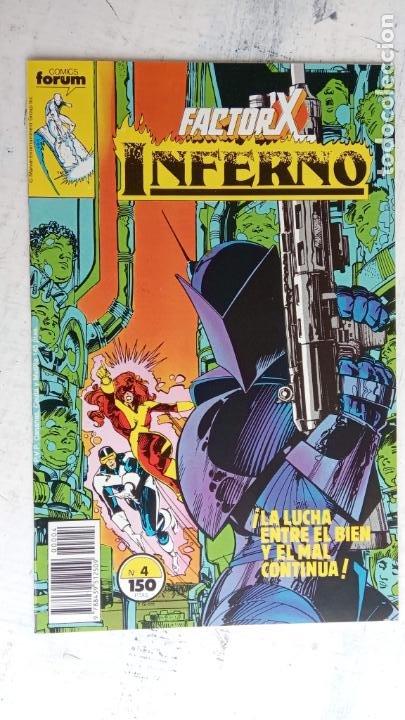 Cómics: INFERNO 1 AL 19 MUY NUEVOS - FORUM 1989 - Foto 15 - 198488380