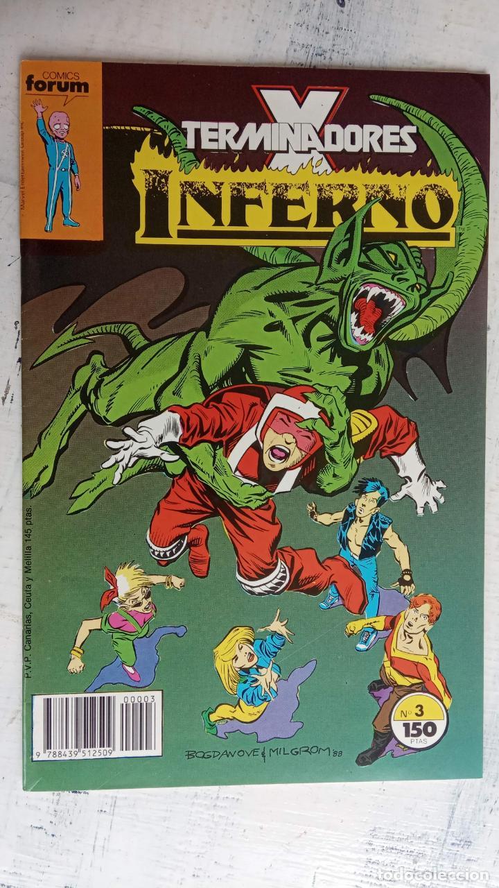 Cómics: INFERNO 1 AL 19 MUY NUEVOS - FORUM 1989 - Foto 16 - 198488380