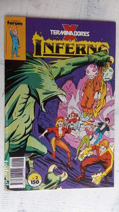 Cómics: INFERNO 1 AL 19 MUY NUEVOS - FORUM 1989 - Foto 17 - 198488380