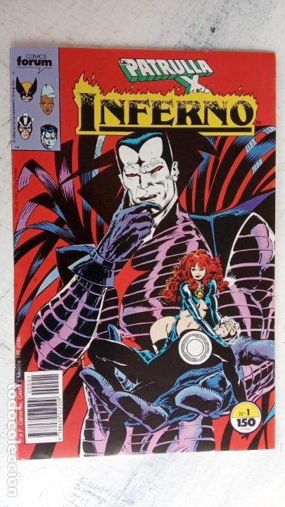 Cómics: INFERNO 1 AL 19 MUY NUEVOS - FORUM 1989 - Foto 18 - 198488380