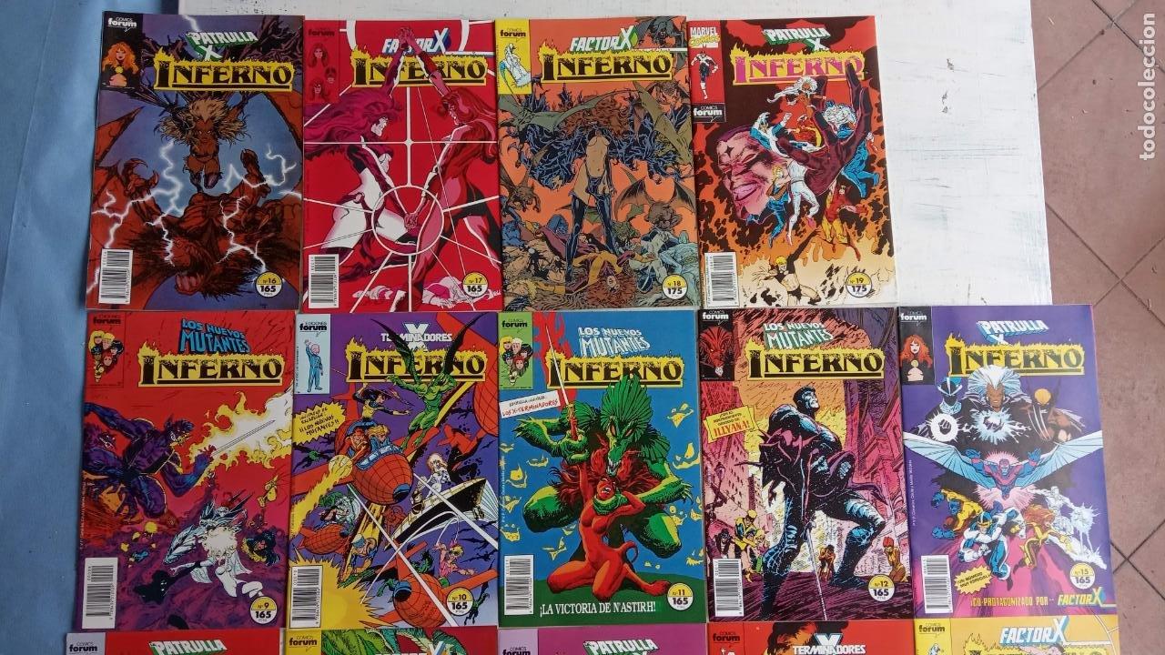 Cómics: INFERNO 1 AL 19 MUY NUEVOS - FORUM 1989 - Foto 21 - 198488380