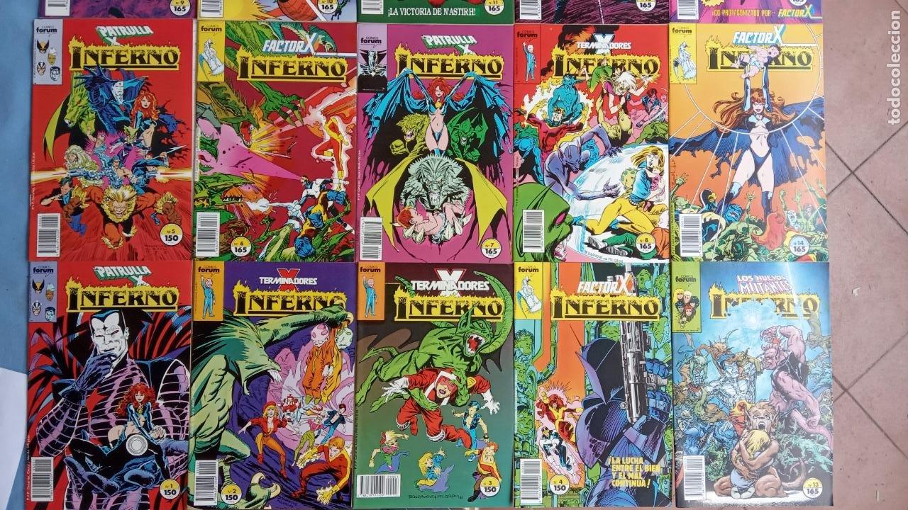 Cómics: INFERNO 1 AL 19 MUY NUEVOS - FORUM 1989 - Foto 22 - 198488380