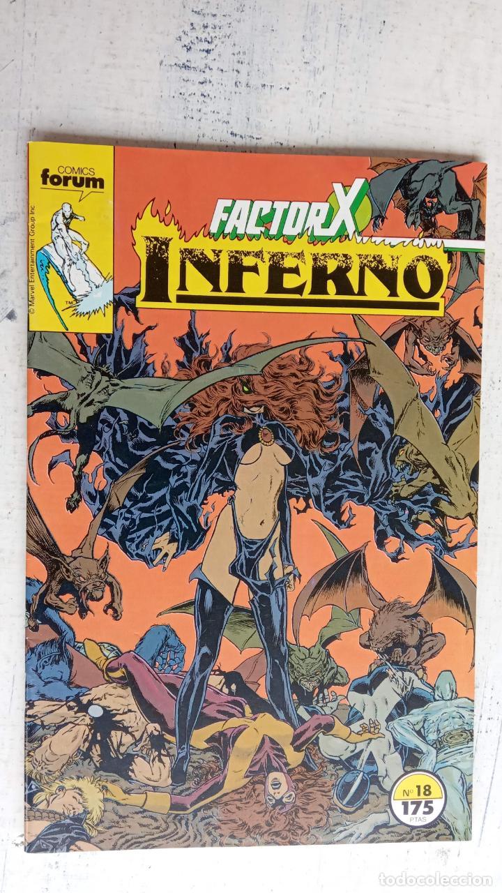 Cómics: INFERNO 1 AL 19 MUY NUEVOS - FORUM 1989 - Foto 24 - 198488380