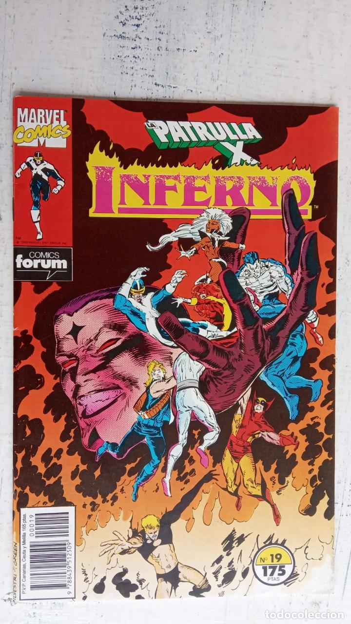 Cómics: INFERNO 1 AL 19 MUY NUEVOS - FORUM 1989 - Foto 25 - 198488380