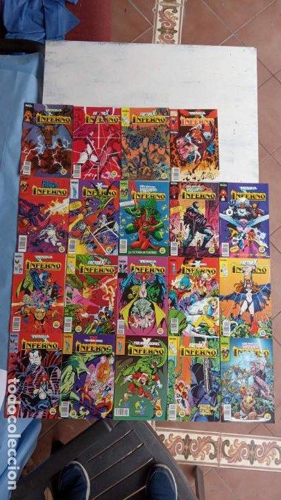 INFERNO 1 AL 19 MUY NUEVOS - FORUM 1989 (Tebeos y Comics - Forum - Patrulla X)