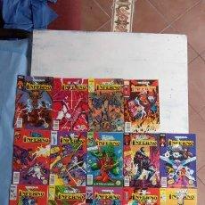 Cómics: INFERNO 1 AL 19 MUY NUEVOS - FORUM 1989. Lote 198488380