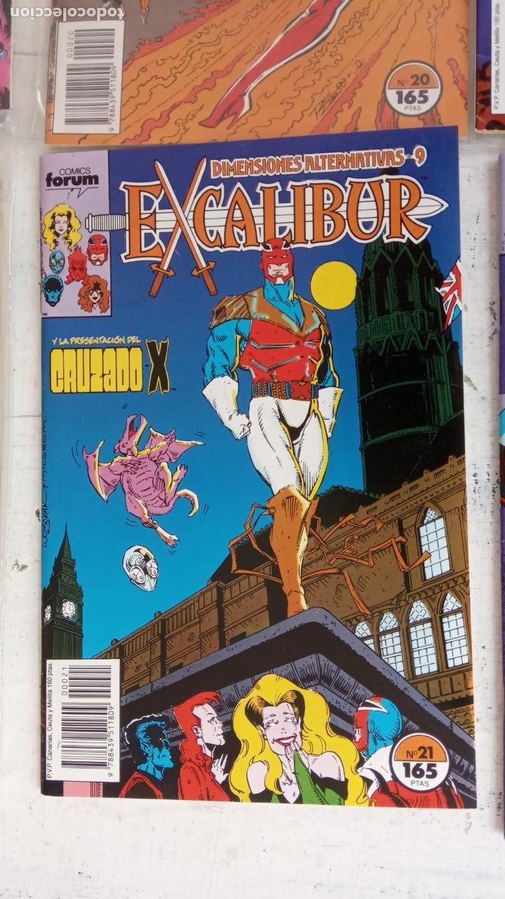 Cómics: EXCALIBUR FORUM 1987 - 1 AL 24 - 27 - 28 - 29 MUY NUEVOS - Foto 3 - 198489715