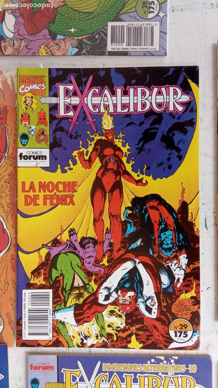 Cómics: EXCALIBUR FORUM 1987 - 1 AL 24 - 27 - 28 - 29 MUY NUEVOS - Foto 5 - 198489715