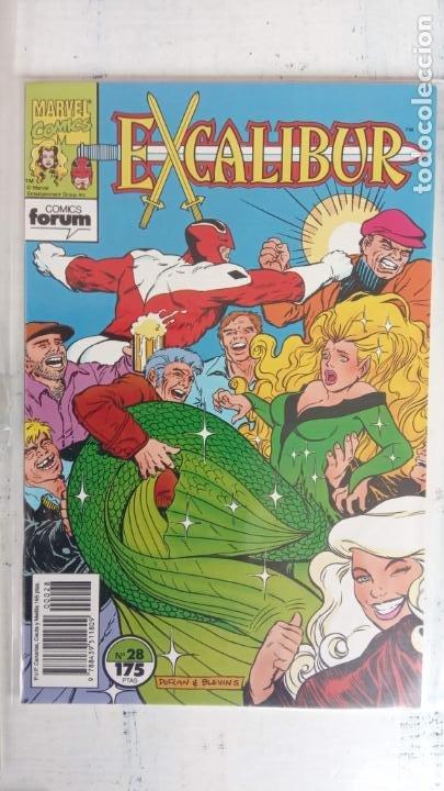 Cómics: EXCALIBUR FORUM 1987 - 1 AL 24 - 27 - 28 - 29 MUY NUEVOS - Foto 8 - 198489715