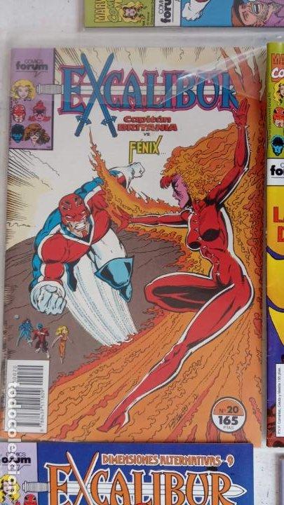 Cómics: EXCALIBUR FORUM 1987 - 1 AL 24 - 27 - 28 - 29 MUY NUEVOS - Foto 10 - 198489715