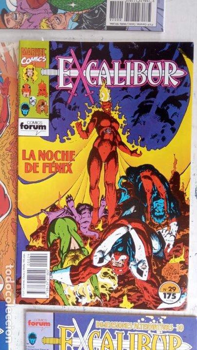 Cómics: EXCALIBUR FORUM 1987 - 1 AL 24 - 27 - 28 - 29 MUY NUEVOS - Foto 11 - 198489715
