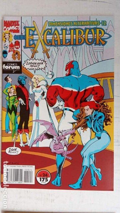 Cómics: EXCALIBUR FORUM 1987 - 1 AL 24 - 27 - 28 - 29 MUY NUEVOS - Foto 12 - 198489715