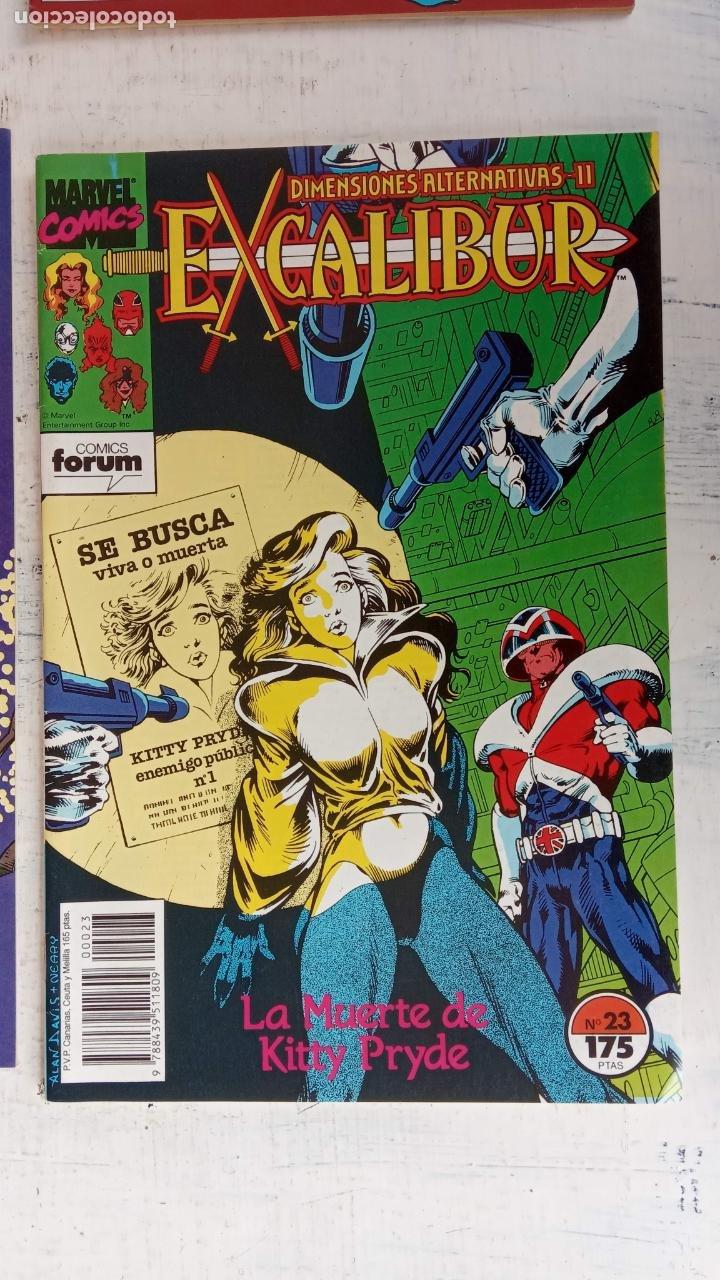 Cómics: EXCALIBUR FORUM 1987 - 1 AL 24 - 27 - 28 - 29 MUY NUEVOS - Foto 13 - 198489715