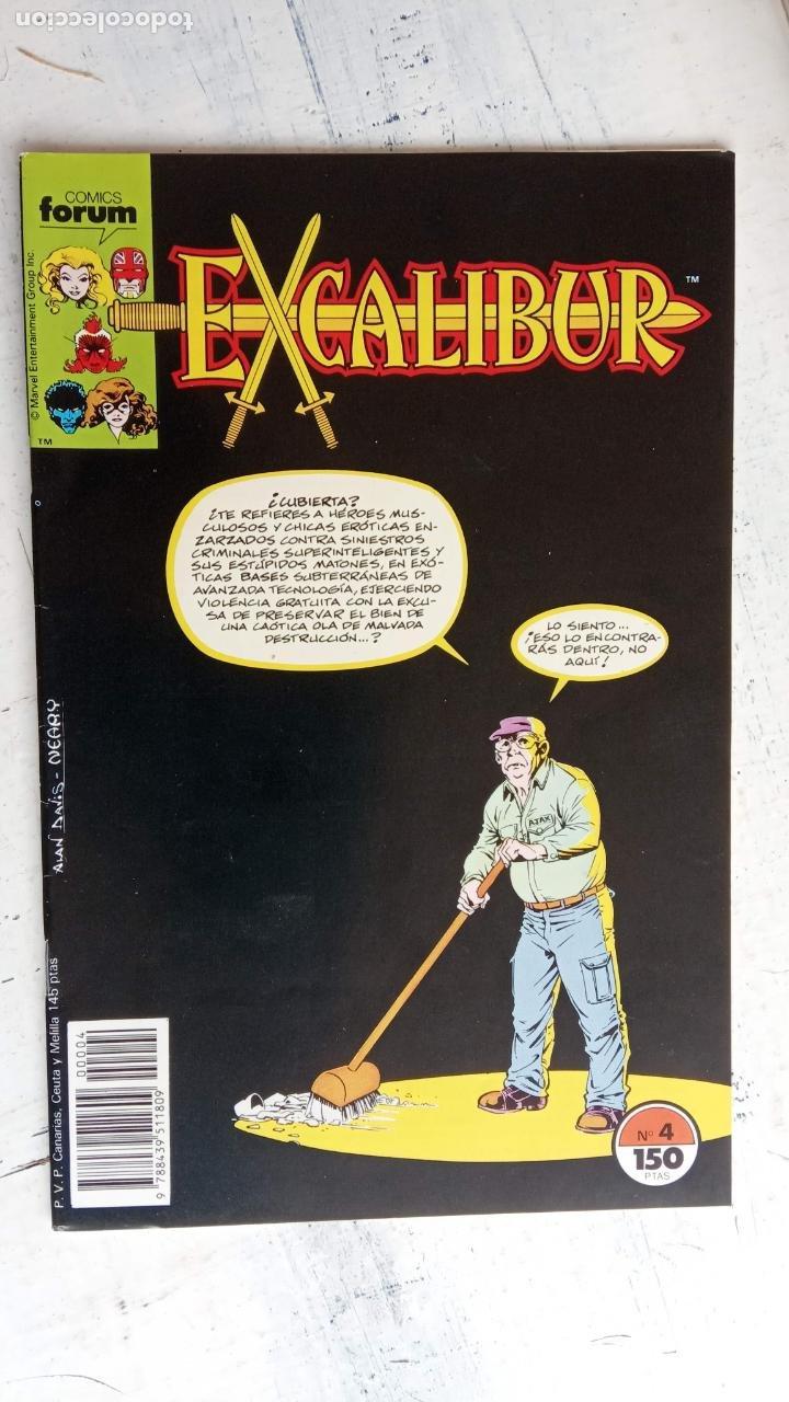 Cómics: EXCALIBUR FORUM 1987 - 1 AL 24 - 27 - 28 - 29 MUY NUEVOS - Foto 17 - 198489715