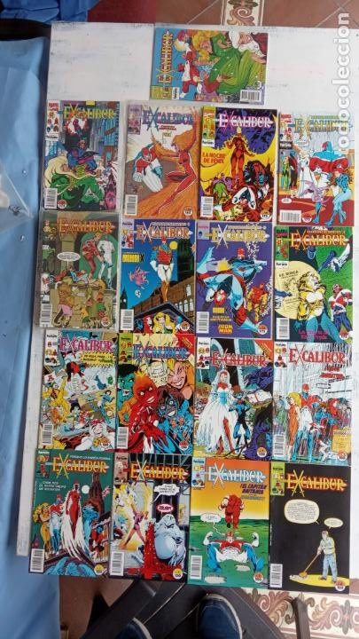 Cómics: EXCALIBUR FORUM 1987 - 1 AL 24 - 27 - 28 - 29 MUY NUEVOS - Foto 20 - 198489715