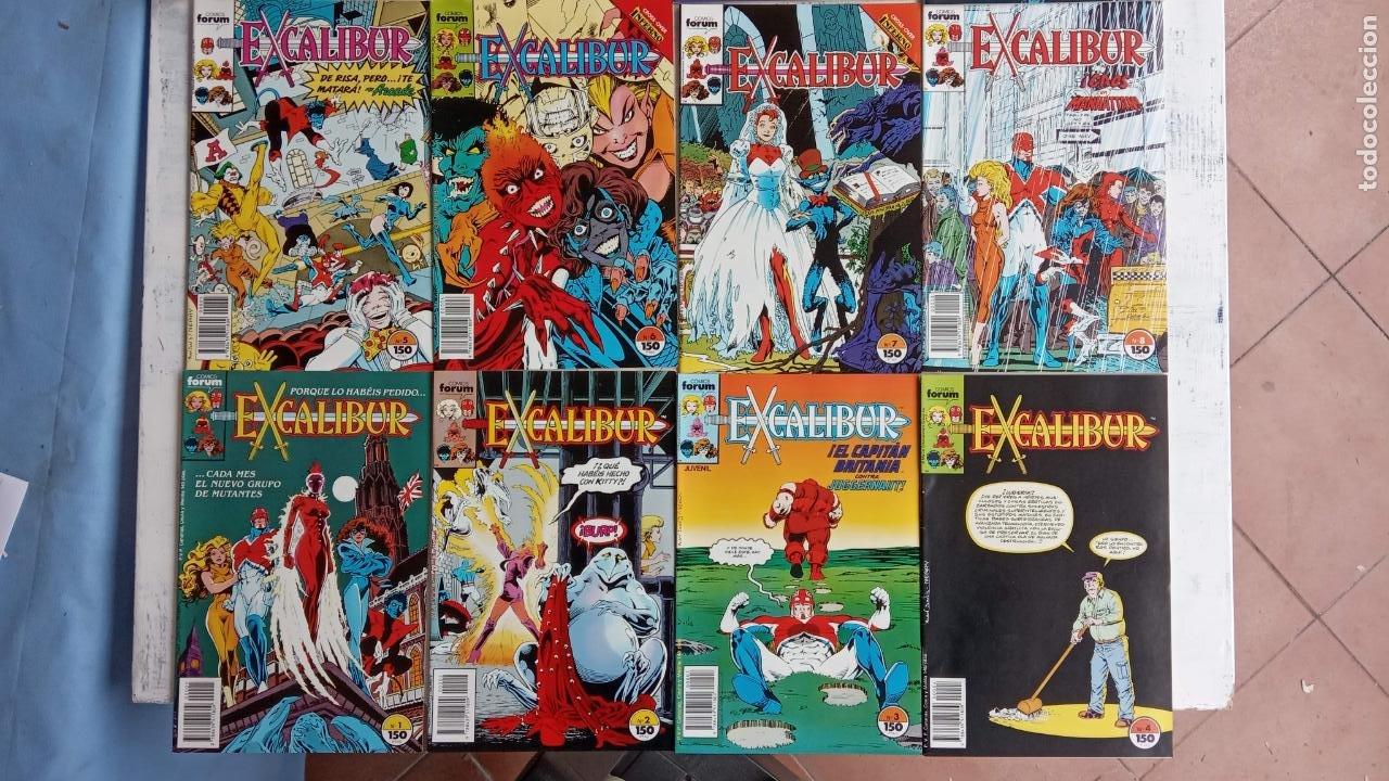 Cómics: EXCALIBUR FORUM 1987 - 1 AL 24 - 27 - 28 - 29 MUY NUEVOS - Foto 21 - 198489715