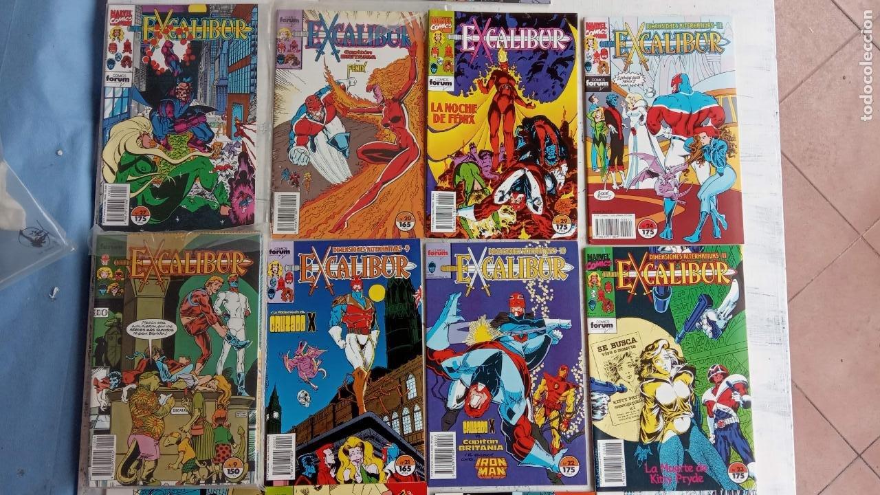 Cómics: EXCALIBUR FORUM 1987 - 1 AL 24 - 27 - 28 - 29 MUY NUEVOS - Foto 22 - 198489715