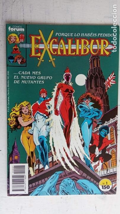 Cómics: EXCALIBUR FORUM 1987 - 1 AL 24 - 27 - 28 - 29 MUY NUEVOS - Foto 23 - 198489715