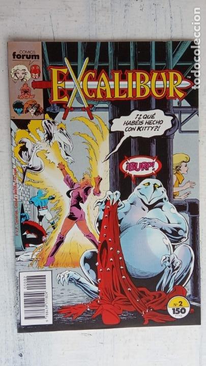 Cómics: EXCALIBUR FORUM 1987 - 1 AL 24 - 27 - 28 - 29 MUY NUEVOS - Foto 24 - 198489715