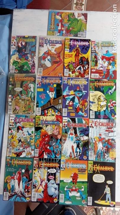 EXCALIBUR FORUM 1987 - 1 AL 24 - 27 - 28 - 29 MUY NUEVOS (Tebeos y Comics - Forum - Otros Forum)