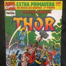 Cómics: CAPITÁN AMERICA VOL.1 EXTRA PRIMAVERA 1992 THOR : EN BUSCA DE KORVAC PARTE II . ( 1985/1992 ).. Lote 198502418