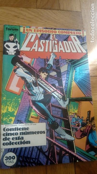 Cómics: EL CASTIGADOR. DEL 1 AL 15 (FORUM Vol.1) - Foto 2 - 198544600