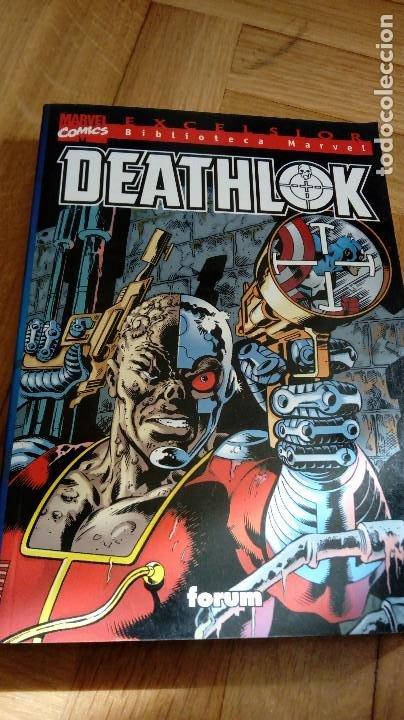 DEATHLOK, EXCELSIOR, MARVEL COMICS, FORUM, TOMO UNICO (Tebeos y Comics - Forum - Prestiges y Tomos)