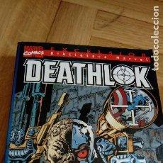 Cómics: DEATHLOK, EXCELSIOR, MARVEL COMICS, FORUM, TOMO UNICO. Lote 198722993